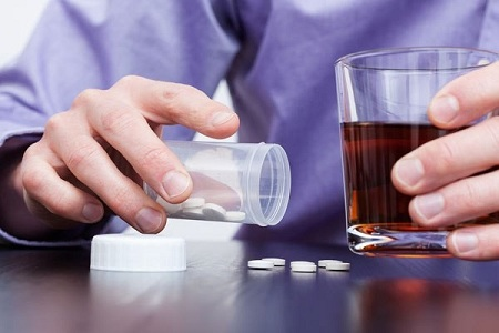 مصرف همزمان زولپیدم با سایر مواد